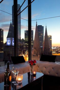 Strength- No matter the location of your venue in Melbourne's CBD you are bound to catch a glimpse of our city skyline.