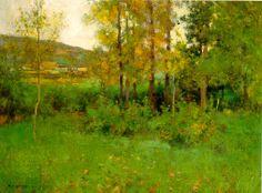 William Leroy Metcalf - Spring Landscape