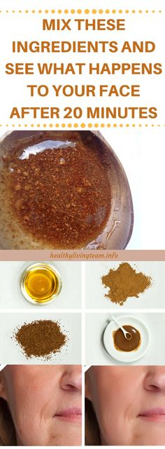 Mix These 2 Ingredients And See What Happens To Your Face After 20 Minutes