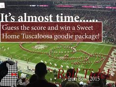 The 2015 #IronBowl is Saturday November 28 at 3:30! Have you seen our #SweetHomeTuscaloosa Collection? You have until kickoff to comment below what you think the final score will be! Whoever has the closest guess will win a Sweet Home Tuscaloosa tshirt and Them Damn Tiger Eagle coozies along with a few other Welsh Wear items! All guesses will be recorded by kickoff so any submitted or altered after will not be eligible to win! Tag your friends in a comment so they can submit a guess too…
