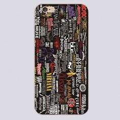 Rock And Roll Punk Band Bianco Duro cell phone bags case cover for iphone 4S 5S 5C SE 6S 7 PLUS Samsung 6 S7 NOTE IPOD Touch 4 5