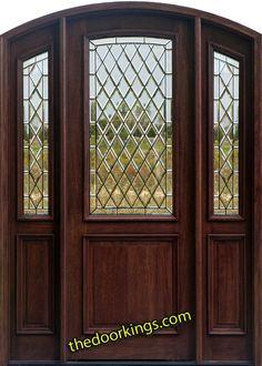 Arch top doors.   www.thedoorkings.com