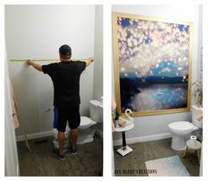 This Unexpected Shower Curtain Idea Is Actually Gorgeous!