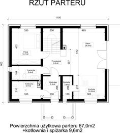 Parter House Plans, New Homes, Floor Plans, How To Plan, House, House Floor Plans, Floor Plan Drawing, Home Plans