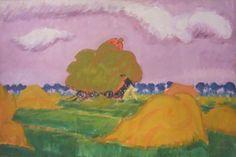 Schilderijen van Jan Altink in het Groninger Museum