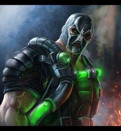 Prepare for a World of BANE, by Mohamed Saad. Dc Comics Superheroes, Dc Comics Art, Marvel Dc Comics, Comic Book Characters, Comic Books Art, Comic Art, Gotham Villains, Comic Villains, Deadshot