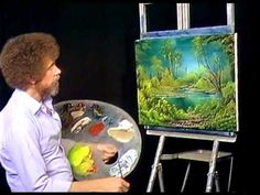 Bob Ross - Painting Marshlands - Painting Video