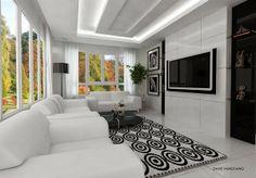 Décoration salon moderne et minimaliste