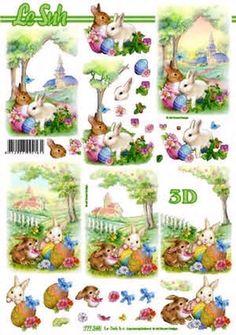 Nieuw bij Knutselparade: 2879 Le Suh knipvel pasen 777 245 https://knutselparade.nl/nl/pasen/2401-2879-le-suh-knipvel-pasen-777-245.html   Knipvellen, Pasen -  Le Suh