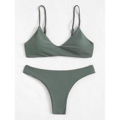 8ae082e314 Bikini. Green BikiniGreen SwimsuitBikini SetTrendy BikinisBeachwear SwimwearSwimsuitsStrap ...