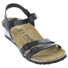 New Birkenstock styles available now with free shipping, free exchanges, and easy returns!  Shop HappyFeet.com for the healthiest and most stylish footwear options around. Birkenstock Sandals, Birkenstock Mayari, Black Leather, Footwear, Stylish, Free Shipping, Shopping, Shoes, Easy