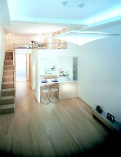 <officetel<3 normally given in Seoul, the loft style apartments for Epik Teachers>