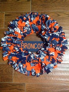 Happier Than A Pig In Mud: NFL Wreath Ideas
