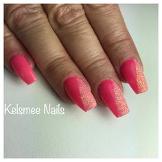 LeChar nails rosé glow with sugaring