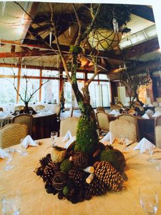 all about nature centrepieces