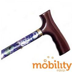 Alex Orthopedics - MP-10505 - Adjustable Travel Folding Cane With Fritz Handle