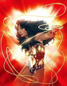 Wonder Woman by Adam Hughes