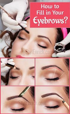 How to Fill in Your Eyebrows to Achieve an Ideal Look?