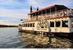 Bismarck, ND. Lewis & Clark Riverboat on the Missouri River