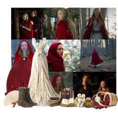"""""""red-riding hood"""" by margarita25 on Polyvore"""