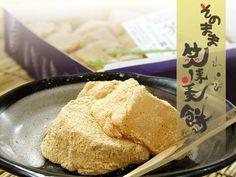 """和菓子""""わらび餅""""(笑来美餅)は芭蕉堂"""