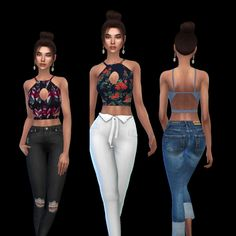 Sims 4 updates: leo sims - clothing, female : shapes top, custom content do Sims 4 Teen, Sims Cc, Sims 4 Cc Packs, Nikki Sims, Sims 4 Cc Makeup, Sims 4 Cc Skin, Sims 4 Clothing, Sims 4 Cc Finds, Sims 4 Update