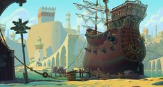 ArtStation - Animation backgrounds, Egor Afonin