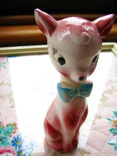 pink deer by damselfly58- settling in but using wi fi. very slo, via Flickr