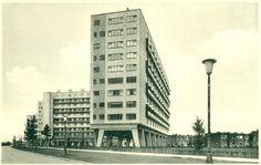 Antwerpen-Kiel - Residentie Edgar Castelein - Zijzicht Multi Story Building, Culture, Urban, History, Architecture, Maps, Wanderlust, Kiel, Nostalgia