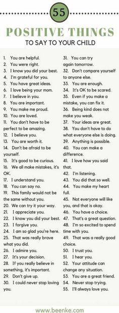 Helpful Positive parenting tips. 55 Positive things to say your kids. Build confidence in your kids with these positive phrases. Kids And Parenting, Parenting Hacks, Parenting Classes, Gentle Parenting, Affirmations For Kids, Raising Kids, Child Development, Coaching, Inspirational Quotes