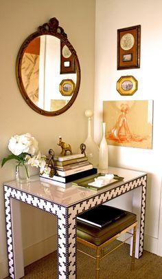 Amanda Malson - desk and stool