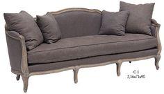 classic grey sofa