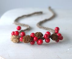 Newborn Christmas Tieback. Ready To Ship Newborn by verityisabelle, £15.50
