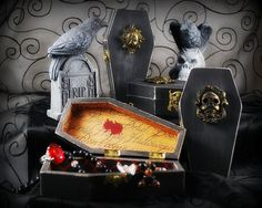 Mini Coffins just in time for Halloween... by ametistagirl, via Flickr