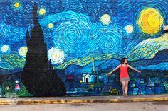Starry Night Mural -