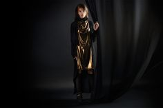 Golden Black by studio Studio, Collection, Black, Style, Fashion, Black People, Fashion Styles, Fashion Illustrations, Trendy Fashion