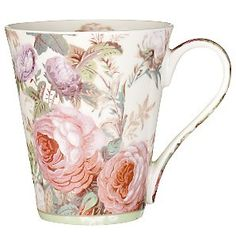 mug...such a pretty print!