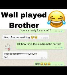 Exam Quotes Funny, Funny Texts Jokes, Sarcastic Jokes, Latest Funny Jokes, Super Funny Memes, Funny School Jokes, Very Funny Jokes, Cute Funny Quotes, Really Funny Memes