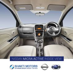 #Nissan #MicraActive From Inside - Shakti Nissan For More: https://goo.gl/WGn8SC #NissanMicra #CityCars #NewCars
