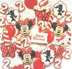 Minnie Mouse Birthday Platter