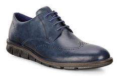 ECCO JEREMY TIE | MENS | FORMAL SHOES | ECCO USA Men's Shoes, Dress Shoes, Formal Shoes For Men, Brogues, Shoe Collection, Soft Leather, Blue Denim, Derby, Oxford Shoes