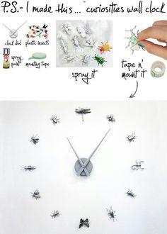 #벽걸이 #시계 #곤충좋아
