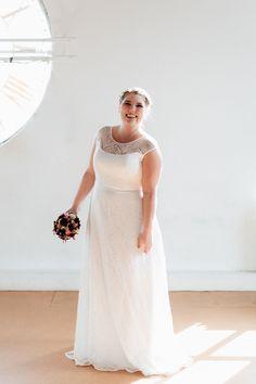 Brautkleider große Größen Nanette
