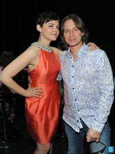 Once Upon a Time                                      ♥Ginnifer Goodwin w/Robert Carlyle♥ Paleyfest 2013