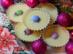 RECEPTY Z MOJEJ KUCHYNE A ZÁHRADY: Čokoládové košíčky z bielej čokolády