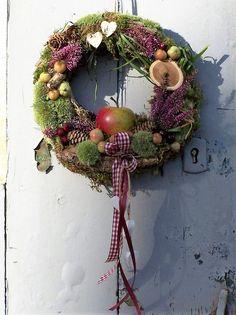 Türkränze - Türkranz Herbstapfel - ein Designerstück von zauberzimmer bei DaWanda