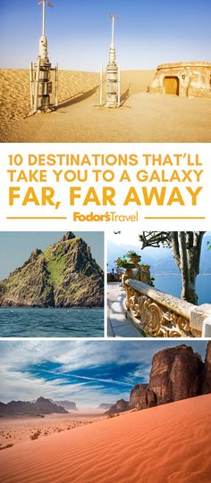 You don't need a hyperspace-equipped Millennium Falcon to explore the stomping grounds of Luke Skywalker and company. #starwars #travel #tripideas