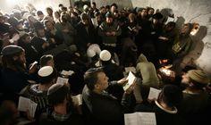 Des Juifs attaqués au Tombeau de Joseph