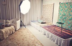 I would love an office kind of big enough to double as a studio. I LOVE her set up! GORGEOUS!