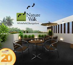 Choose from the best of premium green homes between 3,293 sqft and 4,623 sqft at Nature Walk, Whitefield. #NatureWalk #RenaissanceHoldings
